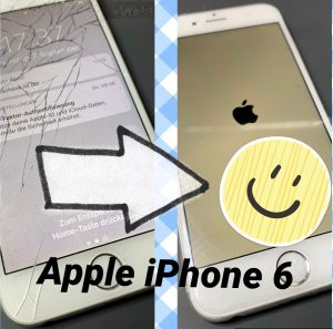 Apple iPhone 6 Display Akku Backcover Smartphone Handy Mobil Reparatur Markt Schwaben
